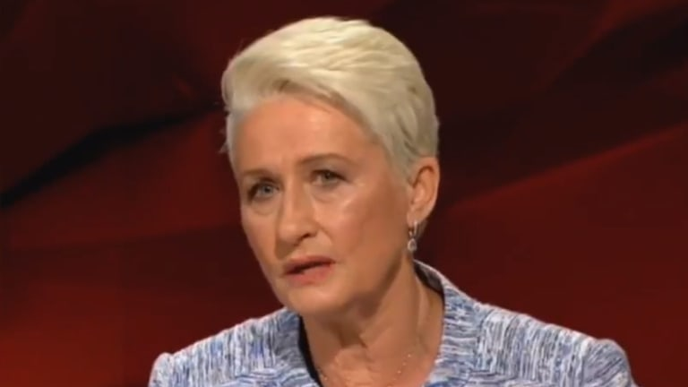 Kerryn Phelps appearing on Q&A on Monday night.
