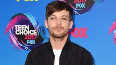 One Direction star Louis Tomlinson.