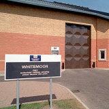 Whitemoor men's prison near March, Cambridgeshire, England.