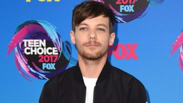One Direction star Louis Tomlinson.
