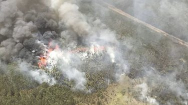 More than 50 fires continue to burn across Queensland.