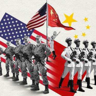 China-US superpower showdown: military strength