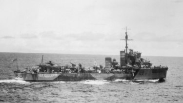 The destroyer HMAS Vampire is the subject of a new search.