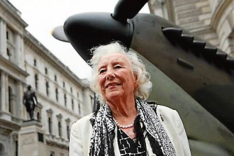 Dame Vera Lynn at a ceremony to mark the 70th anniversary of the Battle of Britain in London in 2010.