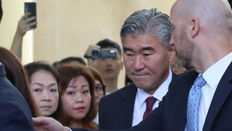 American negotiator, ambassador to the Philippines, Sung Kim.