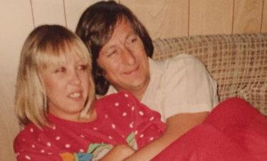 Sonya Szala with her husband John.