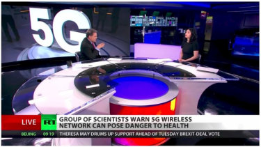 Ominous news about 5G on RT.