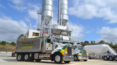 The concrete batching plant's application was rejected in January.