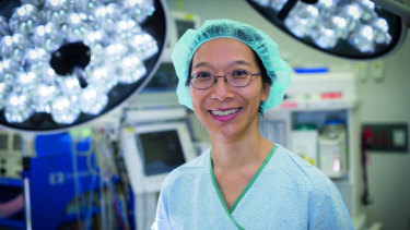 Breast and general surgeon Dr Rhea Liang.