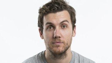 Melbourne comedian Daniel Connell.