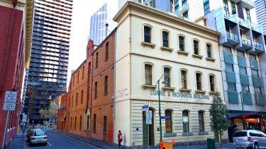 Currie & Richards Building at 29-31 Franklin Street, Melbourne.