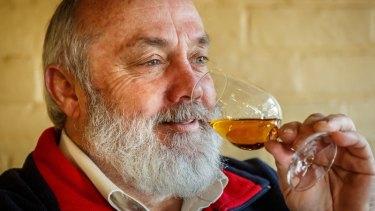 "The ""godfather of Australian whiskey"" Bill Lark."