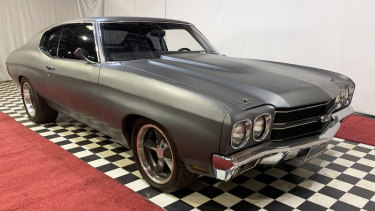 The Chevelle SS, driven by Vin Diesel in the blockbuster movie Fast & Furious, is up for grabs.