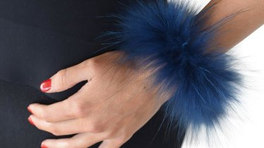 A blue fur cuff sold at Alexandra Australia was tested and found to be  made out of raccoon dog.