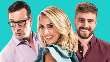 Hit105's Stav, Abby & Matt gained 0.8 percentage points to snatch second from Triple M in the breakfast ratings battle.