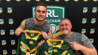 Cory and Craig Cannane will represent their country alongside one another.