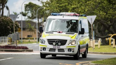 Paramedics were called to Shailer Park State School.