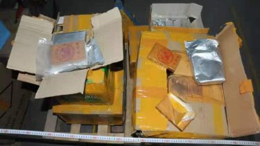 Police say they've foiled a heroin importation plot after a tip-off from Chinese authorities.