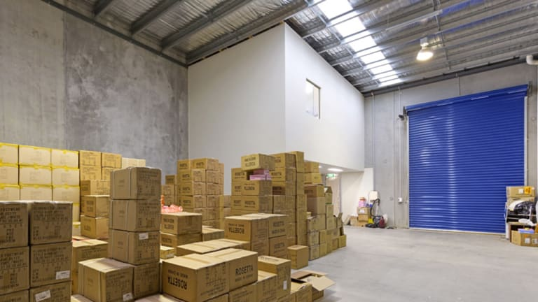 This office/warehouse at 5/58 Lexton Road, Box Hill North was in demand.