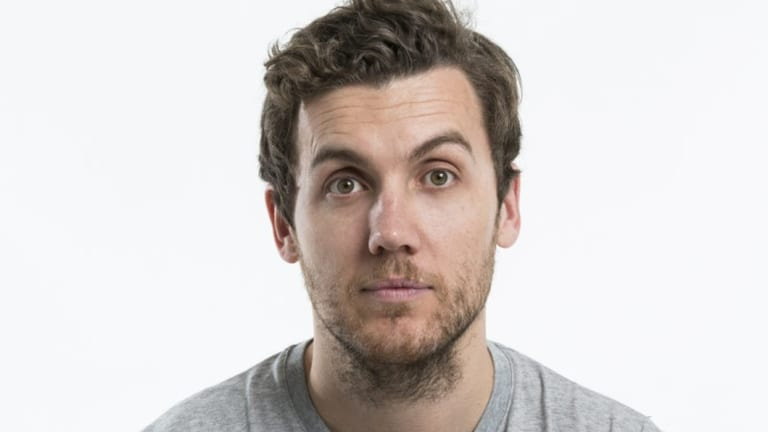 Melbourne comedian Daniel Connell used to work at Defence in Canberra.