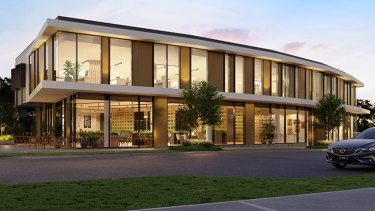 Melbourne Health has a 15-year lease on 14D Oleander Drive.