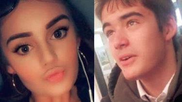 Jordy Kirkwood, 18, and Byron Hampton, 16, killed in Cranbourne crash.