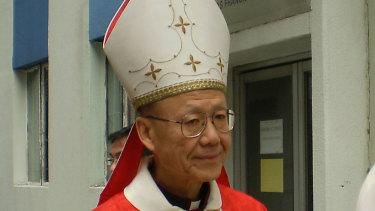 Hong Kong Cardinal John Tong.