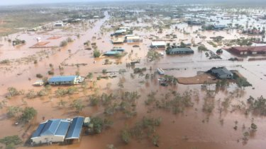 Cyclone Veronica hit the Pilbara region earlier in the year.