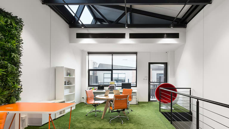 A 124.6 sq m office at 6/1 Bromham Place in the 'The Ternary' warehouse redevelopmentin Richmond sold for $920,000.
