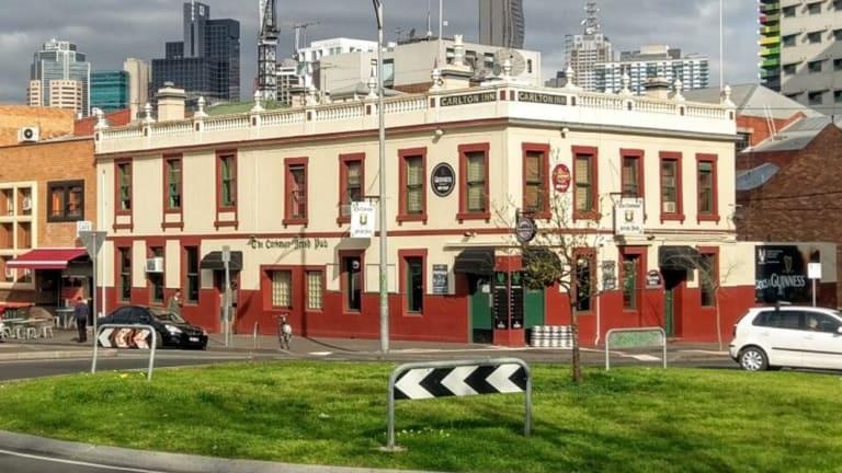 The Corkman pub in 2015.