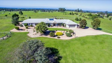 Vendors of the sprawling country mansion in Sarsfield wanted $1.9 million.