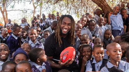 Heartbreaking Kenya trip an eye-opener for Eagles superstar