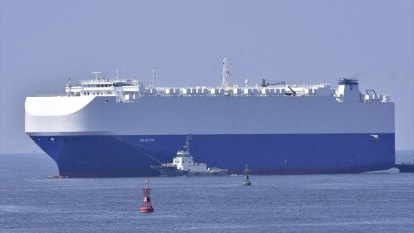 Israeli-owned ship hit by explosion in Middle East