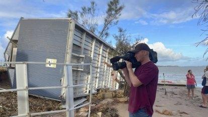 Strongest cyclone to hit Australia this season leaves trail of destruction along WA coast