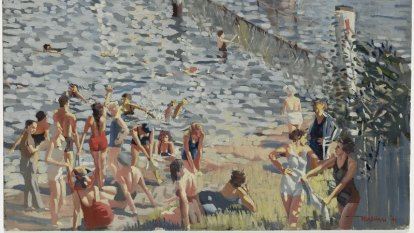 In the deep end: The swimming pool in Australian art