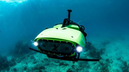 Robot revitalising the reef 'like spreading fertiliser on your lawn'