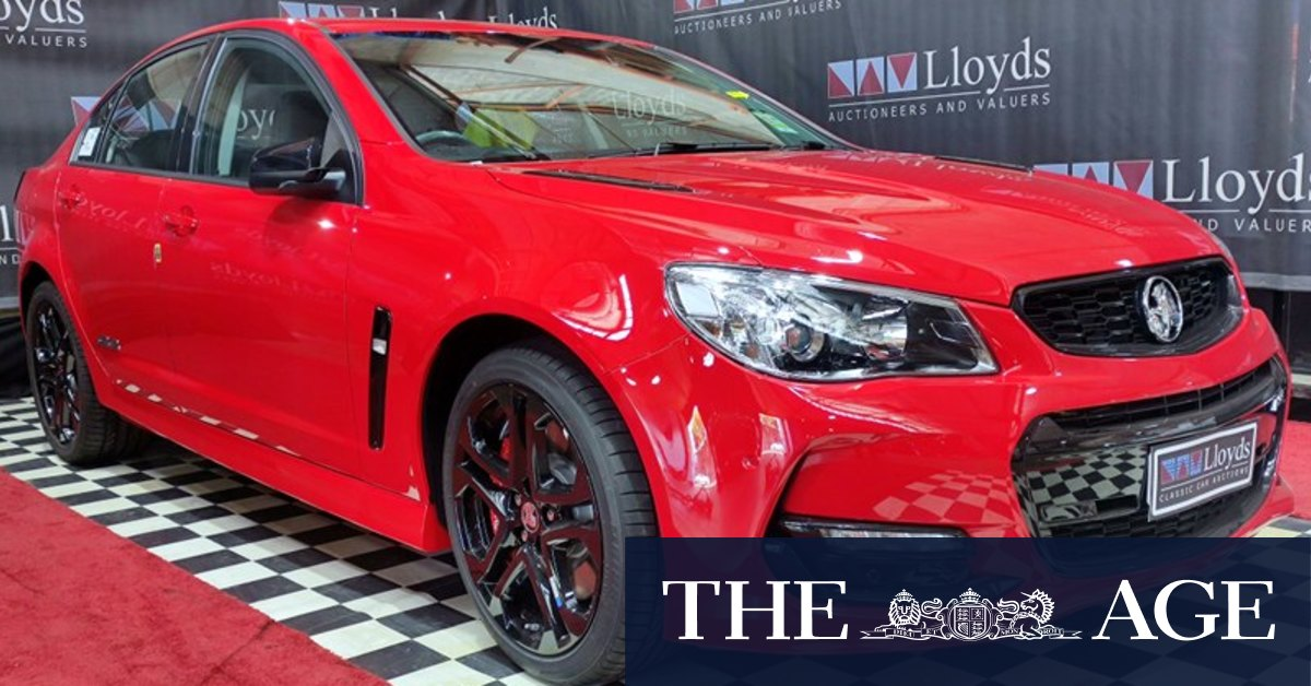 'Last ever' Holden built in Australia sells for 0,000 at auction