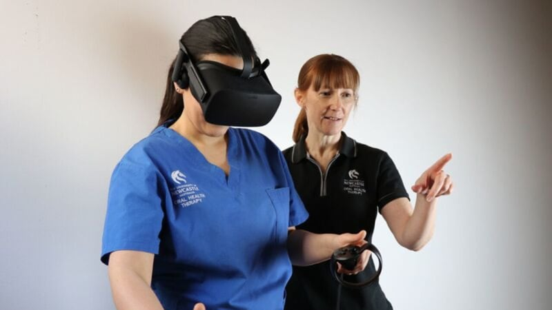Oral health training gets added bite thanks to virtual reality