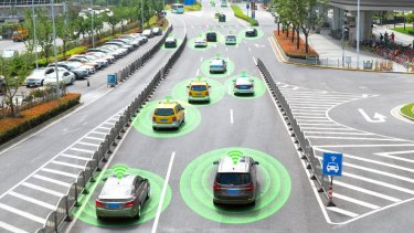 Road safety researchers are about to start the largest trial of connected-vehicle technology in Australia.