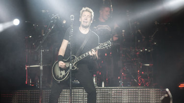 """Nickelback return to Australia and it's """"goddamn time"""", according to Chad Kroeger."""