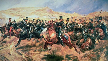 Someone had blundered: <i>The Charge of the Light Brigade</i> as depicted by Richard Caton Woodville, 1894.