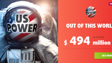 Lottoland advertises products like US Power despite a ban on betting on international lotteries like the Powerball.