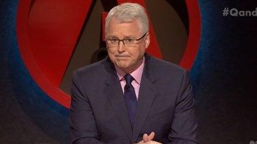 Tony Jones is the regular host of Q&A.