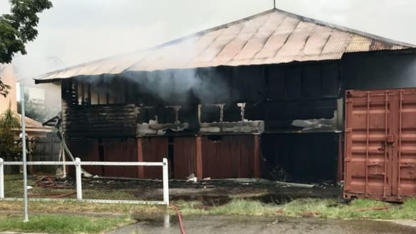 Teenager in custody after fire guts Gold Coast house