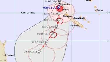 Tropical Cyclone Uesi could cross into Australian jurisdiction by Friday.