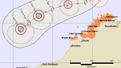 Cyclone warning cancelled for the Kimberley as TC Wallace looms off the coast