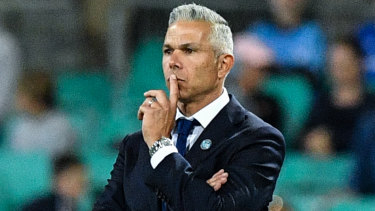 Food for thought: Steve Corica has kept a steady ship at Sydney FC, but teams are working them out.