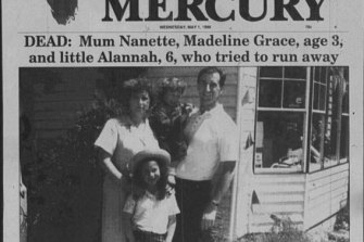 Newspaper clippings from the Port Arthur massacre focussing on the victims, not the perpetrator.