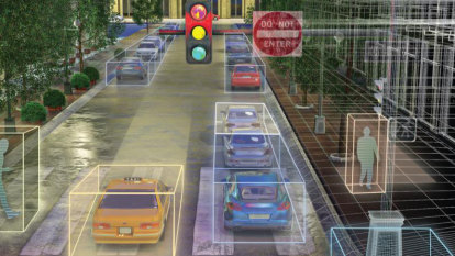 Lidar tech envisions future of smart cities, self-driving cars at CES