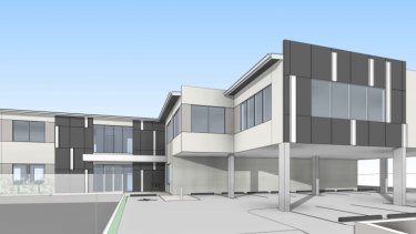 Plans for the APVMA's new building at 91 Beardy Street and 102 Taylor Street, Armidale.